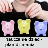 Nauczanie dzieci zasad finansowych- plan działania