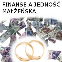 Finanse a jedność małżeńska